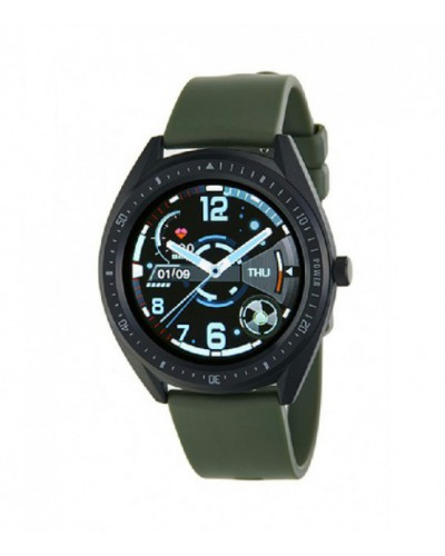 Smartwatch con correa de silicona verde - B59003/3